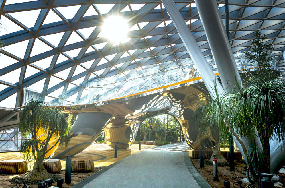 Discovery Slide at Jewel Changi Airport