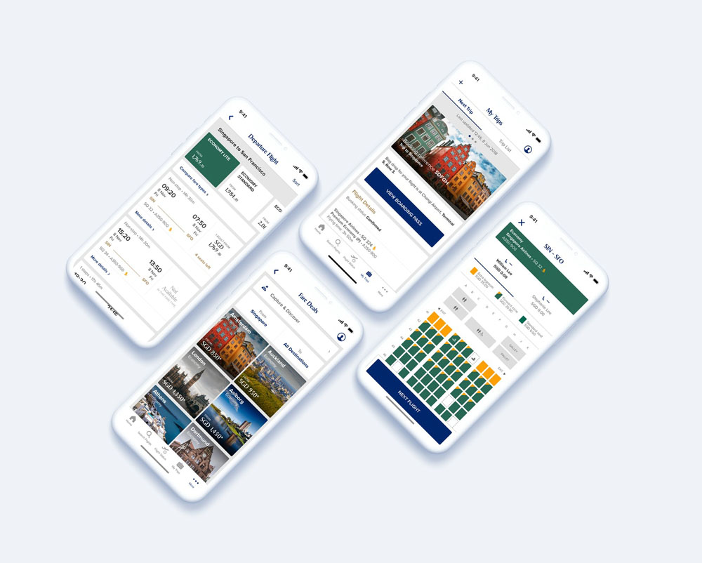 Singapore Airlines Mobile App