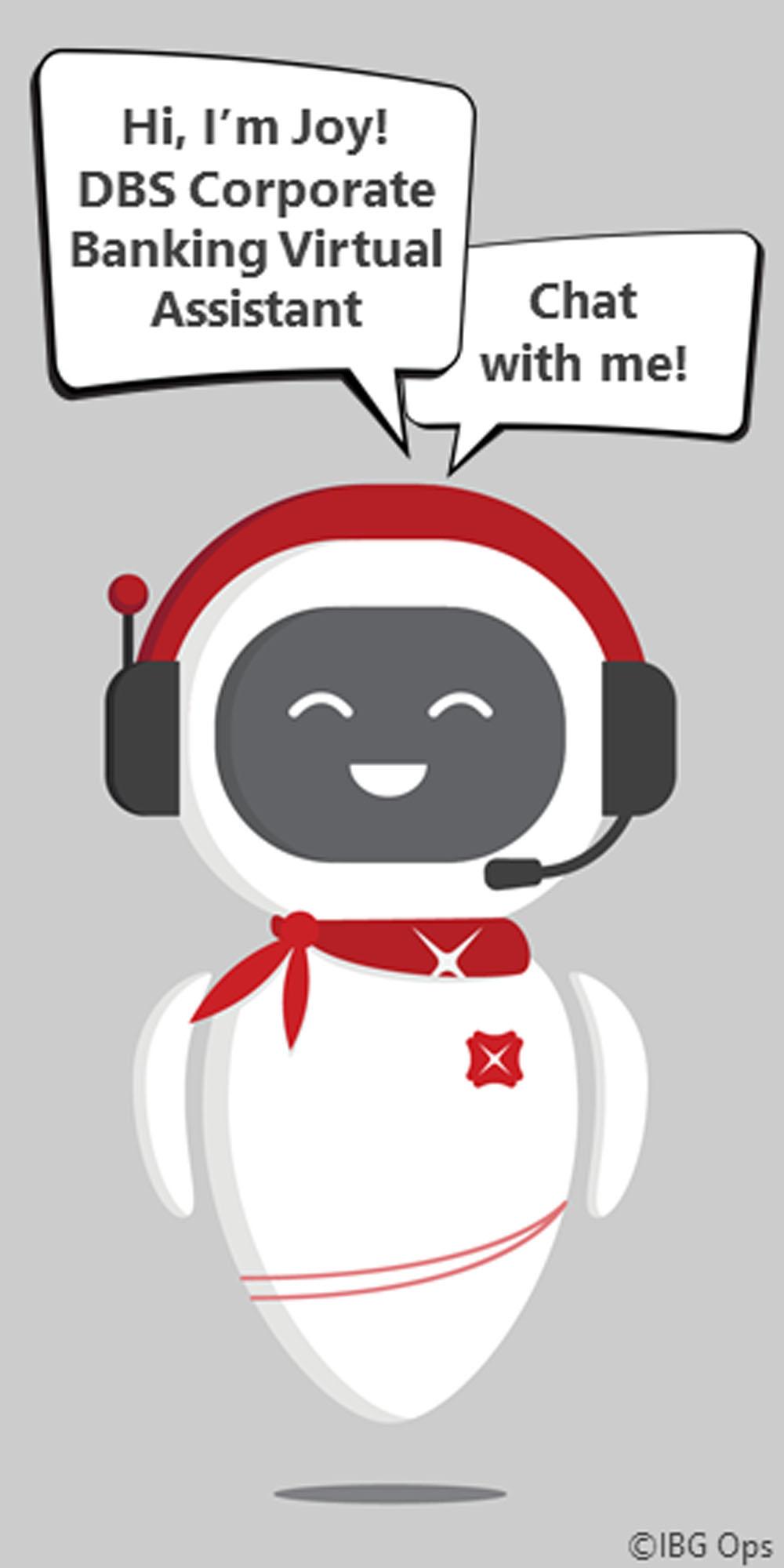 DBS Joy Chatbot