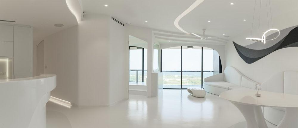 White Marina Home