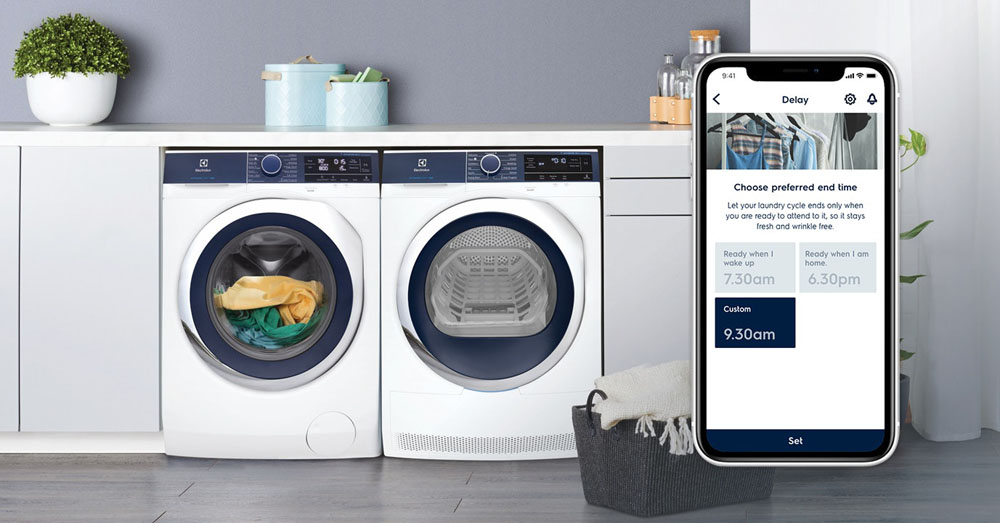 UltimateCare™ Connected washer and dryer perfect pair