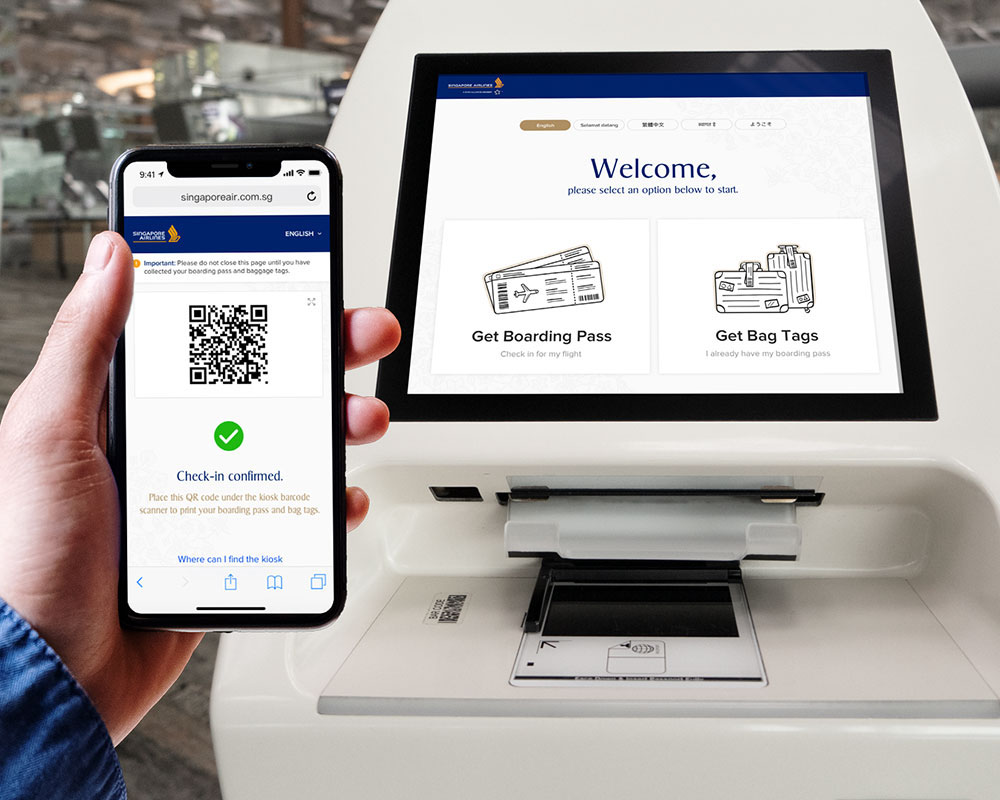 Singapore Airlines Seamless Travel Experience Digital Suite