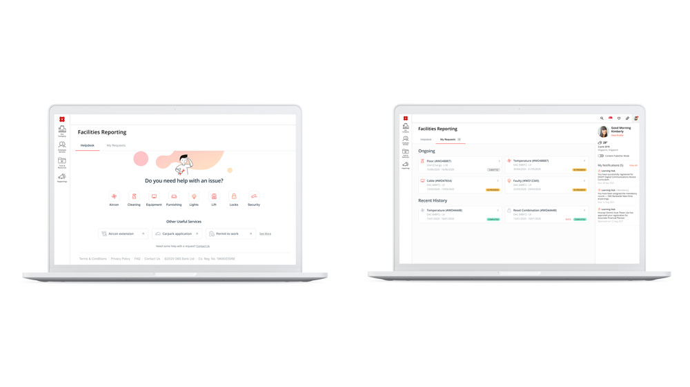 DBS Facilities Reporting Tool
