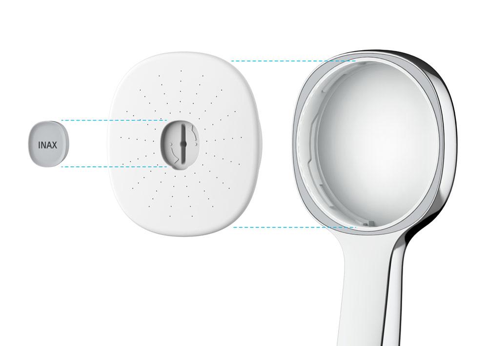 Aqua POWER Pressure Boosting and Water Saving Hand Shower