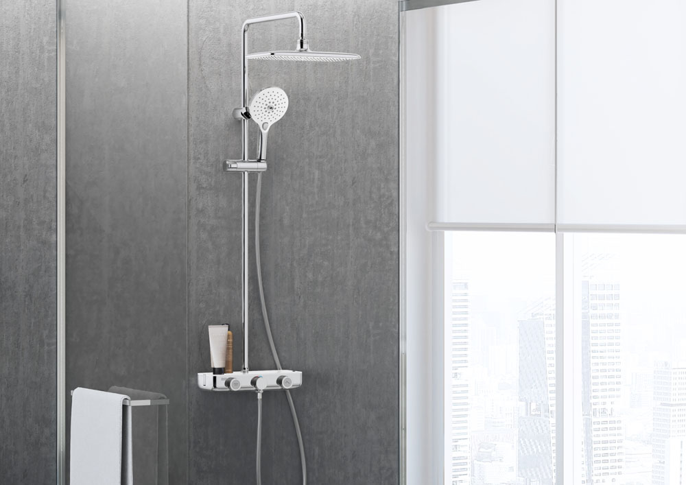 EasySET Exposed Shower System