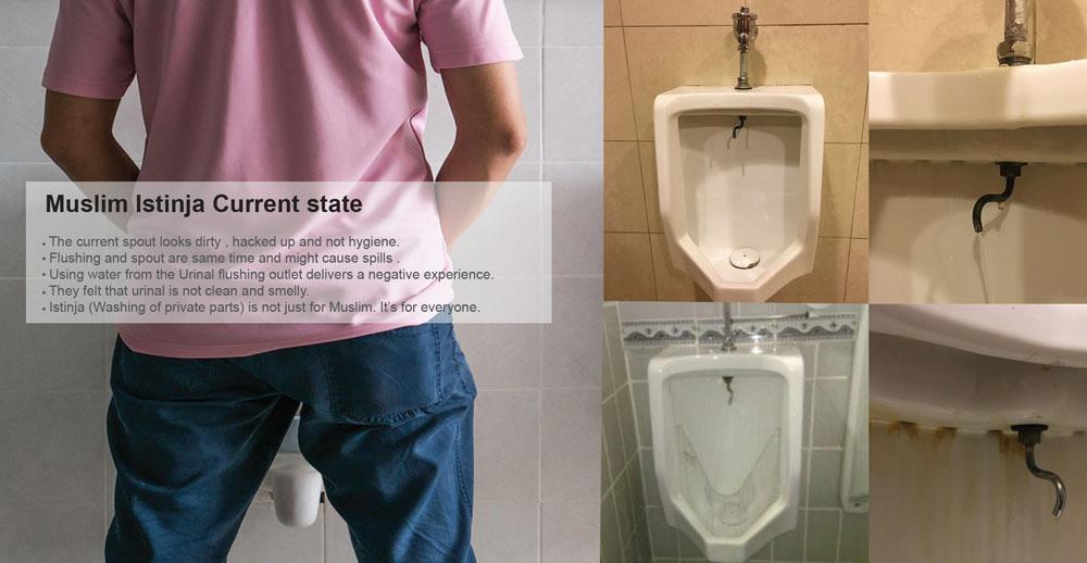 Kohler Struktura Hygiene Urinal