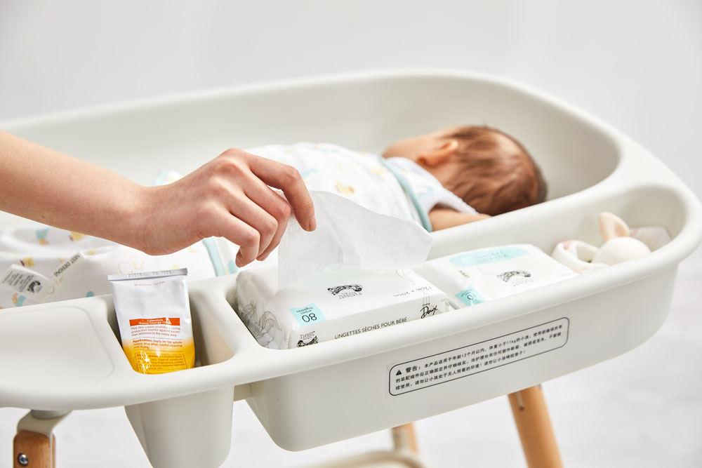Little White Changing Table