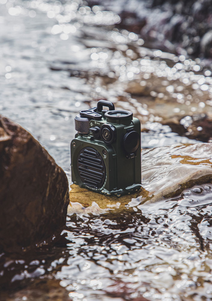 Muzen Wild Mini Outdoor Bluetooth Speaker
