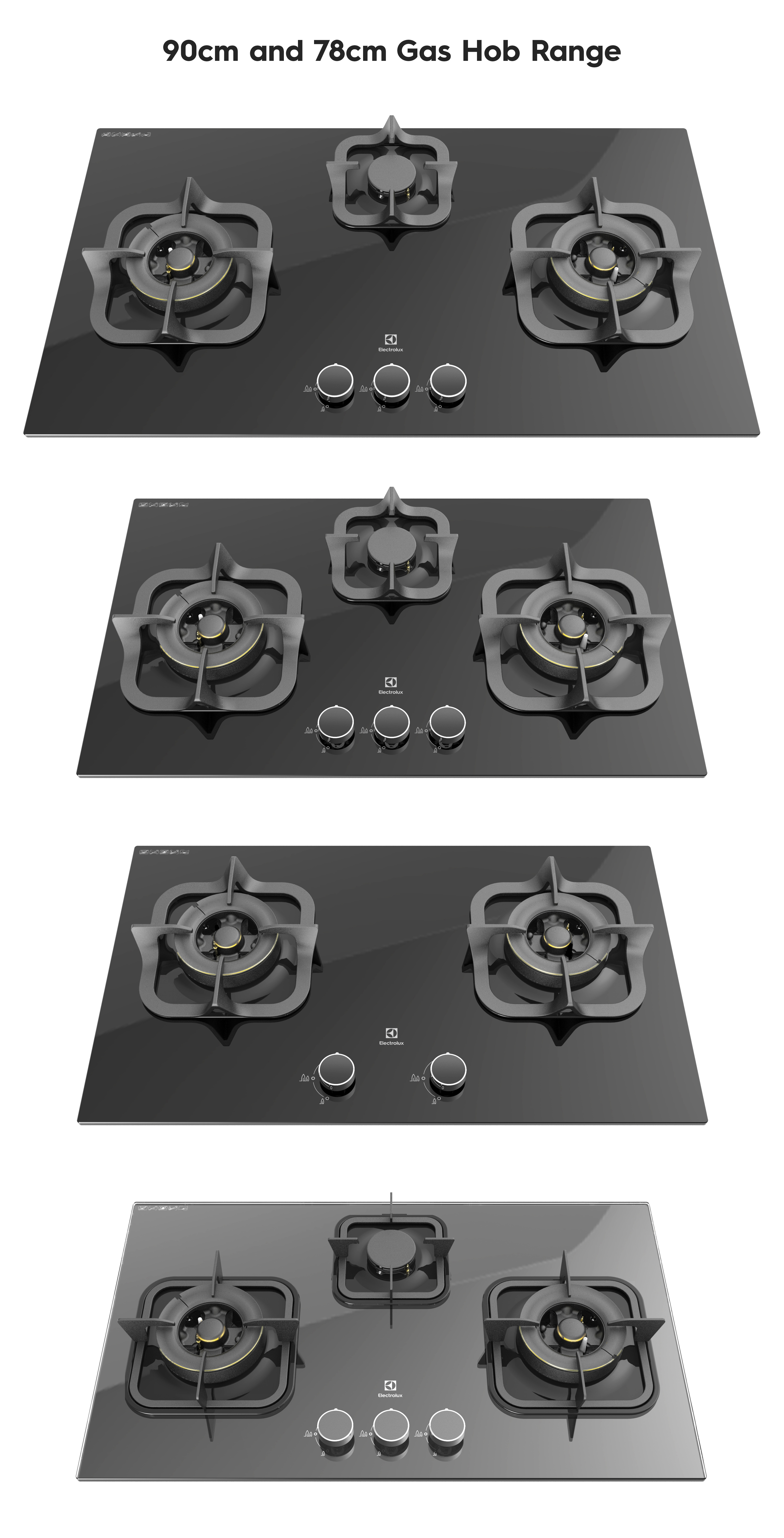Electrolux Gas Cooktop