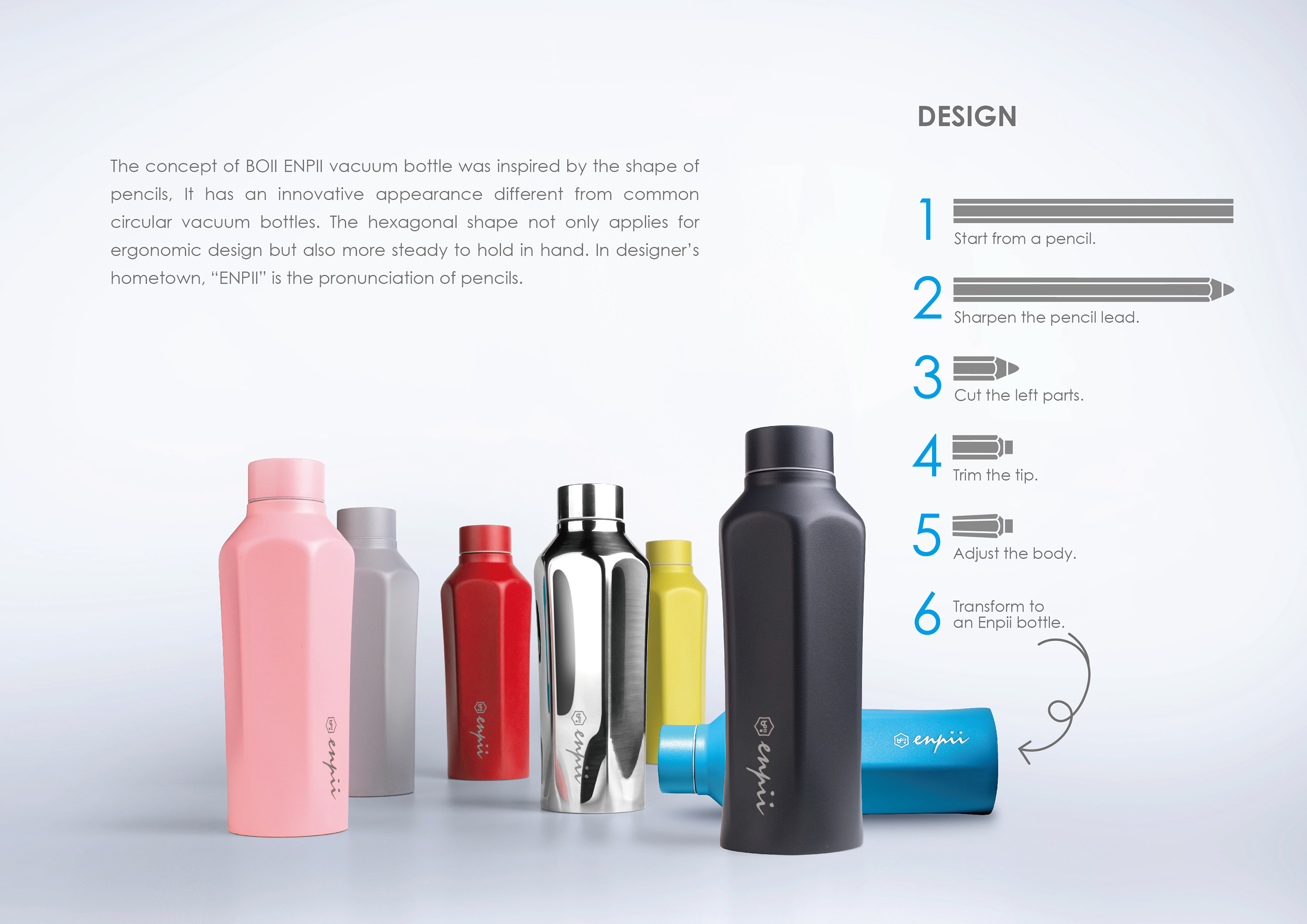 Enpii vacuum bottle