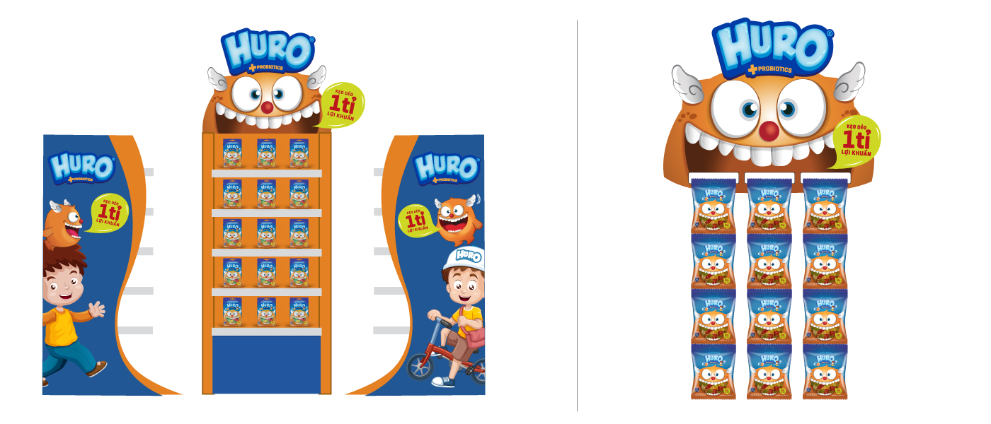 Huro Probiotics Branding Project