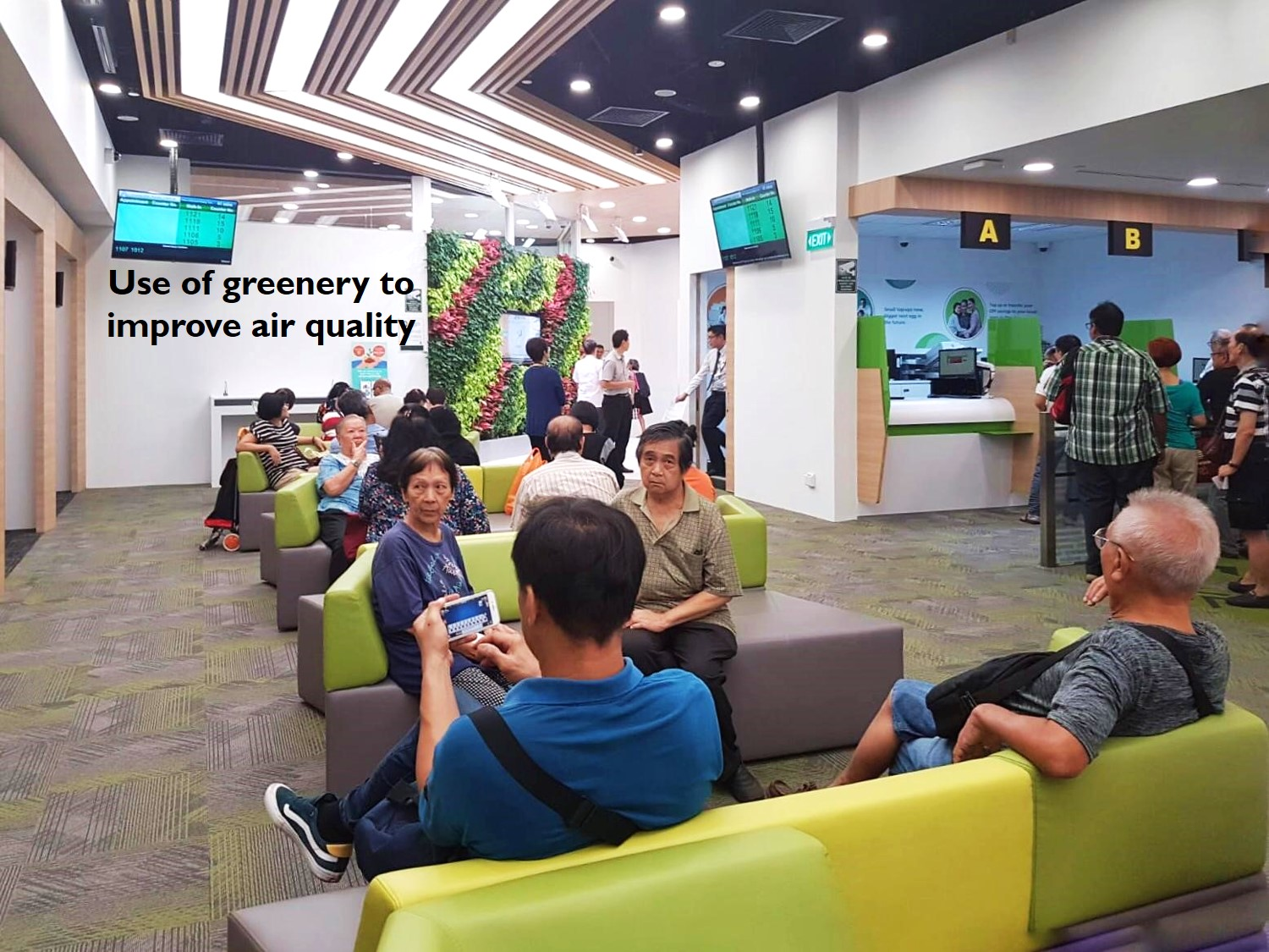 Transformation of Service Experience at the CPF Bishan Service Centre